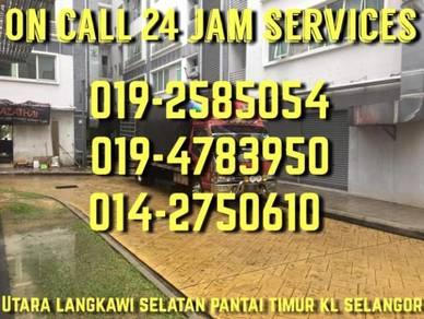 Services 24 jam on call lori pindah_