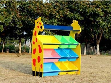 Giraffe storage rack 6+3 bin
