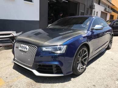 Audi A5 Facelift Carbon Bonnet