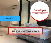 [[ FREE 2 Car Park ]] Zero D/Payment + Move In Anytime + Cash Back 12k