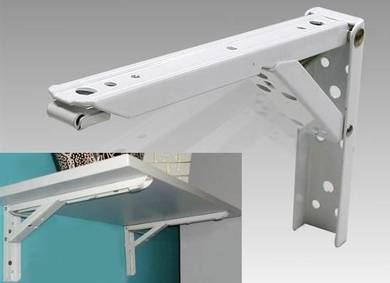 Foldable L-bracket / rack / rak