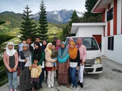 Pakej Bajet Sabah 4D3N Family/Grouping