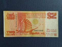 Two Dollars Singapore DN872846