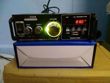 Car & home use audio amplifier