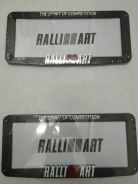 Ralliart Nom plate Casing