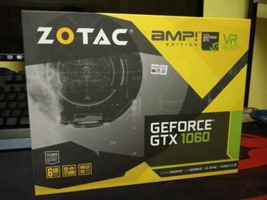 Zotac gtx 1060 6gb se amp (backplate)