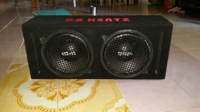 Speaker box woofer