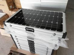 120W Portable Solar Panel with charge controller