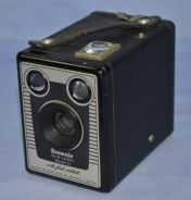 Kodak england brownie six-20 film box camera