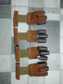 Archery - 3 finger draw glove
