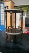 Table round solidwood