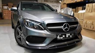 Mercedes benz w205 C class AMG C63 grill bodykit