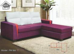 Dimension l-shape sofa-8566