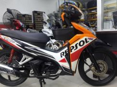Honda Repsol 110 Bayaran Muka Rendah - 0% Gst