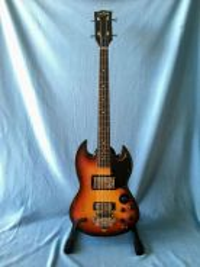 Zenny Bandilla 4 String Bass 3 Color Sunburst