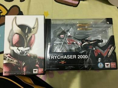 Shf kamen rider kuuga 2.0 and trychaser 2000