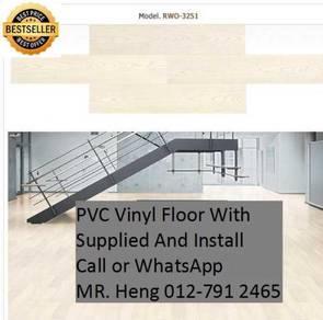 PVC Vinyl Floor - With Install g6556y