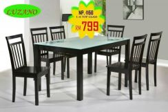 1+6 Dining set top glass (440) 22/06