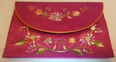 Pink Vietnamese purse