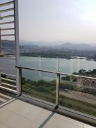 Eco sky condo, fully furnished, wardrobe, must view
