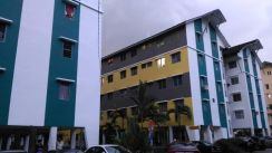Plentong Utama flat for sale,full loan