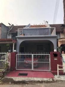 Double Storey House Taman Dusun Setia In Rahang