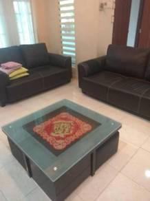 Guarded double storey fully furnish nice unit Bukit Mertajam