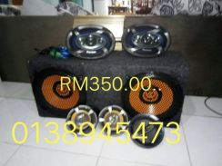 Subwoofer,power amph,speaker