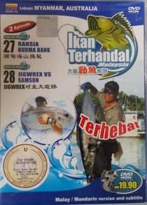 DVD Ikan Terhandal Lokasi Myanmar Australia