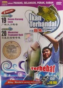 DVD Ikan Terhandal Pahang Selangor Perak Sabah