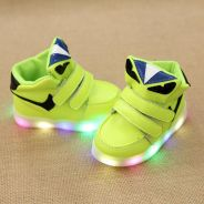 Baby 1~3 yrs old kids Multi LED shoes
