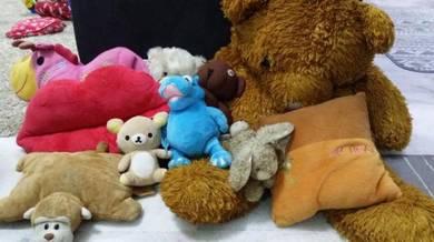 Soft toys / Mainan terpakai