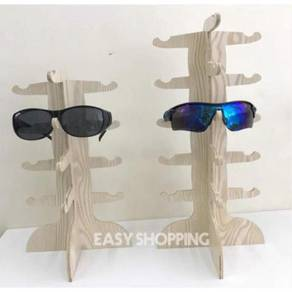 Wooden sunglass display rack 02