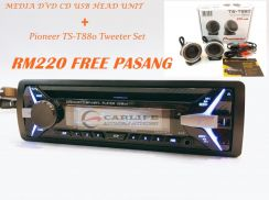 DVD CD USB Player with PIONEER Tweeter Package