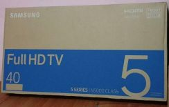 Samsung TV 40 inches new