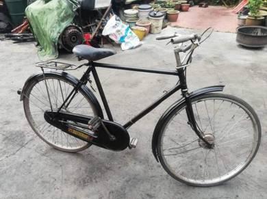 Antik/Antique basikal tua Raleigh 26