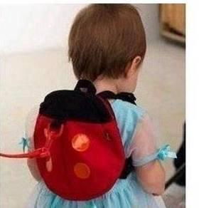 Bag keselamatan kanak-kanak - safety harness bag