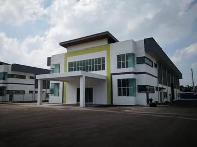 Double Storey office cum detached factory at sungai bakap