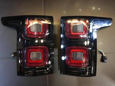 Range Rover Vogue facelift design Tail lamp LED