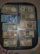 Old Money from various countries