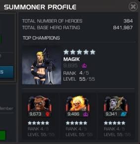 Marvel Contest of Champion