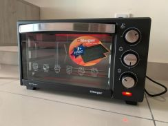 MORGAN Electric Oven (Free Backing Tray )
