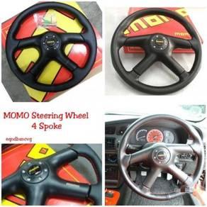 Momo Steering Wheel 4 Spoke putra