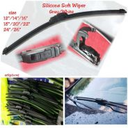 Silicone Soft Wiper Blade White Grey kilang price