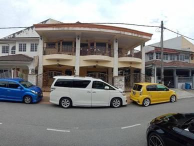 Freehold Semi D House Taman Berlian Batu Caves Gombak