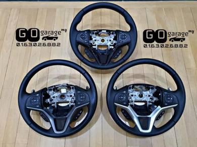 JDM Honda Leather Steering Wheel Jazz City HRV RS
