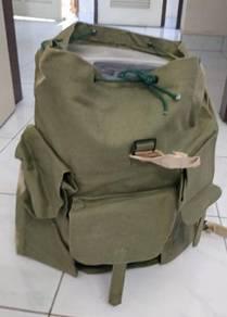 Nos old school canvas bag army green