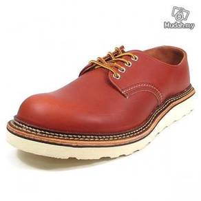 Work Shoe Red Wing Men Oxford Low Cut Brown 8001