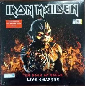 IMPORTED LP Iron Maiden The Book Of Souls Live Cha