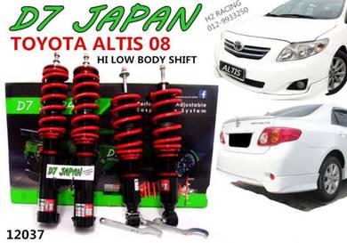 Altis 08up Hi Low + Body Shift Adjustable 2Step